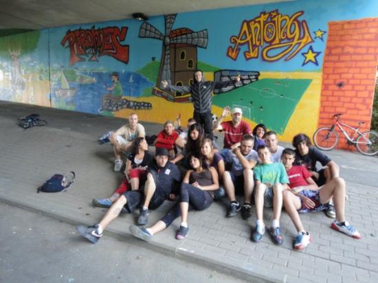 Projet Graffiti Peronnes