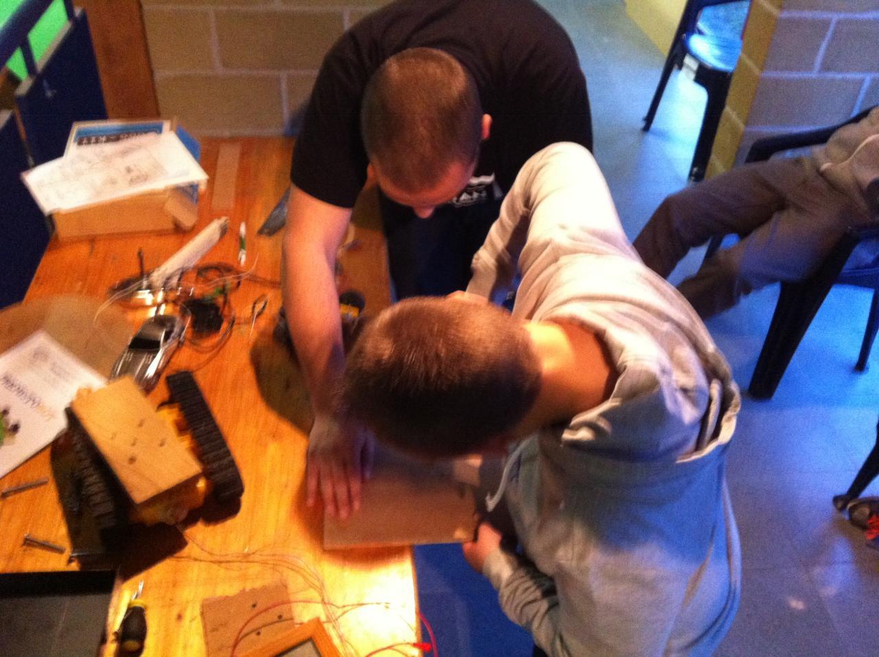 Atelier robotique