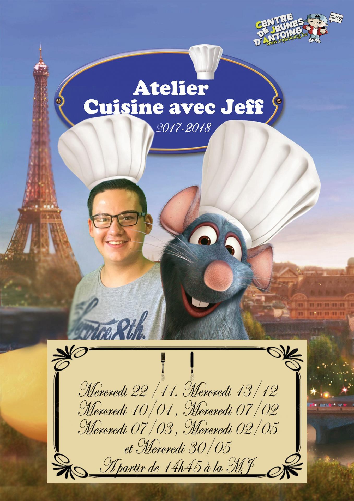 Atelier cuisine jeff2018