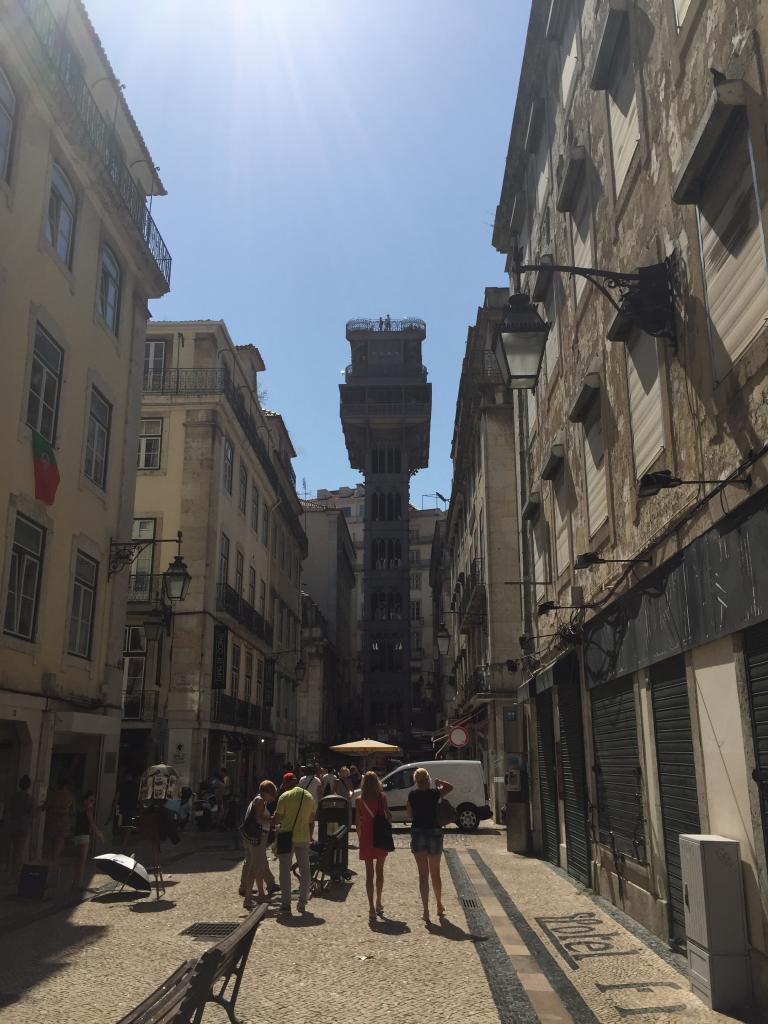 Après toutes nos actions nous sommes enfin à Lisbonne