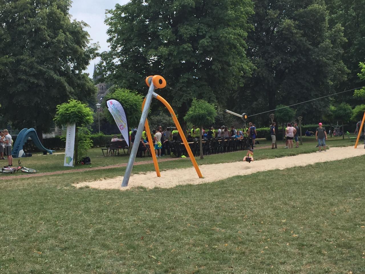 Village de clôture du Wapicyclette 2017