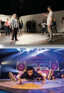 Atelier breakdance